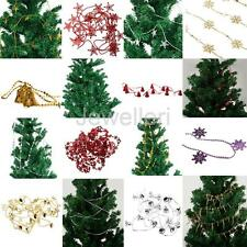 Wedding Christmas Beads Garland Christmas Tree Guest House Hanging Ornament