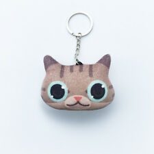 Sweet 3D Cat Lover Key chain Key ring Keyfob Key Ring Flannel Best Quality Gift