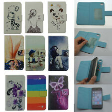 For ZTE case book style Wallet Card LUXURY leather cartoon cute Cover + stylus