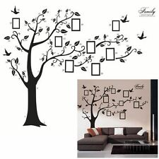 Art Photo Adhesive Decals Mural Bird Tree 3D Wall Stickers Home Decor