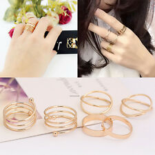 Above Knuckle Infinity Midi Rings Set 18K Gold Filled Wholesale Jewelry lots
