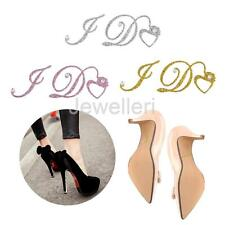 Crystal I Do Set Wedding Accessory Bridal and Groom Shoes Sticker Wedding Decal