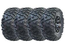 NEW TRAXION GRIPPER MAX RADIAL 27X9-14 FRONT 27X11-14 REAR ATV TIRES SET OF 4