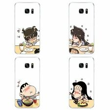 Cases For Samsung Galaxy S6 S7 C7 Edge Plus Soft TPU Phone Back Cover Couple