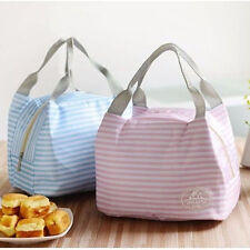 Lunch Container Lunch Box Storage Bag Picnic Carry Totes Pouch Lunchbag Hot
