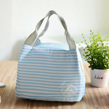 Lunch Container Lunch Box Storage Bag Picnic Carry Totes Pouch Lunchbag Nice