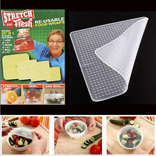 Home Re-usable Food Vegetables Wraps Stretch and Fresh Keeping Covers Tool