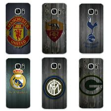 Case For Samsung Galaxy S6 S7 C7 Edge Plus Soft TPU Phone Back Cover Football