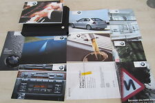 BMW 3 SERIES E46 COMPACT 2000-2004 Owners Manual Handbook & SERVICE BOOK Wallet