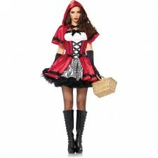 Gothic Red Riding Hood Adult Halloween Costume. Free Delivery