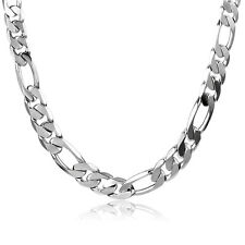 Fashion Mens jewelry Stainless Steel Boys Hip Hop Figaro Chain Necklace 20.5in