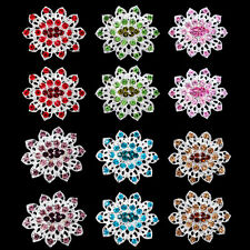12PX Wholesale Lot Brooches Silver Or Gold Colors Brooch Pins Mixed Colors