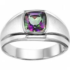 Sterling Silver Mystic Topaz Ring. Huge Saving