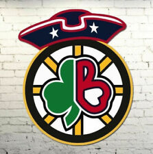 Boston Sports Combined Decal Red Sox, Celtics, Patriots Bruins Qty Discounts WoW