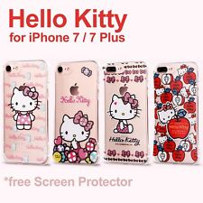 Sanrio Genuine Hello Kitty TPU Soft Case Skin for Apple iPhone 7 / 7 Plus US