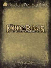 Lord of the Rings Motion Picture Trilogy Extended Editions Brand New DVD Sets