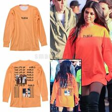 Men Women The Life Of Pablo MSG T-shirts Kanye West Hip Hop Costume Street Snap
