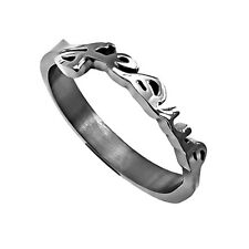 Jesus John 3:16 Ring Stainless Steel, Religious Christian Faith Bible Verse