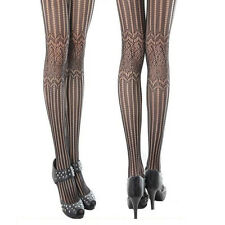 Fashion Black Fishnet Pattern Womens Ladies Jacquard Stockings Pantyhose Tights