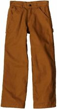 Carhartt CK8316 (duck) Big Boys Washed Flannel Lined Dungaree Pant