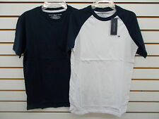Boys Tommy Hilfiger $22.50 Navy or White T-Shirts Size 8/10 - 20
