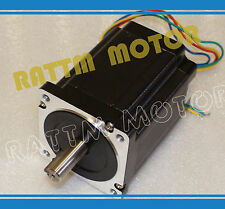 Nema34 Stepper Motor 116mm 1230oz-in 5A for CNC Router Milling Engraving Machine