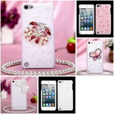 For Apple iPod Touch 5th 6th Gen Diamond Bling Rhinestone Case Phone Cover