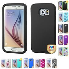 For Samsung Galaxy S6 Hard TUFF IMPACT Case Phone Cover Rugged Armor
