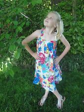 Mini Boden 7/8 11/12 13/14 NWT Printed Sun Dress Vivid Blooms & Lots of Twirl