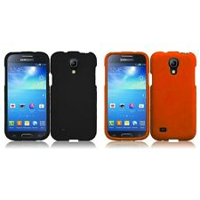 For Samsung Galaxy S4 Mini i9190 Rubberized Matte Snap-On Hard Case Phone Cover
