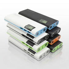 AU 50000mAh USB External Backup Battery Charger LCD Portable Power Bank Upgrade