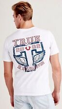 NWT TRUE RELIGION MEN'S SHIRT T WINGS V NECK TEE, SZ L, 2XL, 100% AUTHENTIC!!!!!