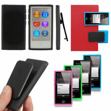 Durable TPU Belt Clip Case Cover Protective Skin For Apple iPod Nano 7 7th Gen