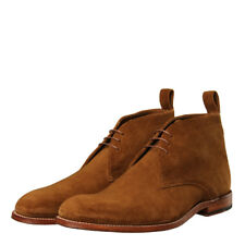 New Mens Grenson  Marcus Suede Chukka Boot - Snuff Brown Suede