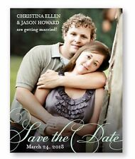 Wedding Announcements Set of 10 Bella Photo Save the Date Cards AA8099