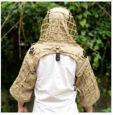 DIY Camouflage Clothing Hunting Sniper Paintball Army Militray Ghillie Suit Hat