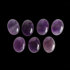 7X5MM Oval Shape, Amethyst Calibrated Cabochons AG-216