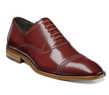 Stacy Adams Bingham Cognac Oxford Mens Dress Shoes