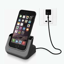 Lightning 8 Pin Data Sync Cable Cradle Station Dock Charger for IPhone 7 / 6s /6