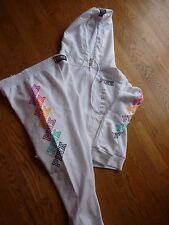 """VICTORIAS SECRET PINK """"PINK"""" SOLD OUT APPLIQUE HOODIE PANT SET OR SEPARATES NWT"""
