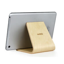 SAMDI Real Wood Desktop Stand for iPhone iPad Samsung Mobile Phones & Tablets