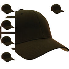 Details about  6277 Flexfit Wooly Combed Twill Fitted Plain Baseball Cap Hat -