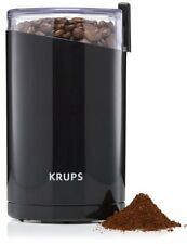 Coffee Grinder And Spice Electric with Stainless Steel Blades 200 W Motor Black