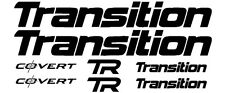 Transition COVERT or SCOUT Bike Decal Sticker Set of 8 MTB DH Downhill Fox DH