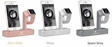 Apple Watch Charging Dock & iPhone Charging Stand Desktop Charging Station