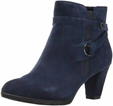 Anne Klein Women's Chelsey Suede Western Boot - Choose SZ/Color