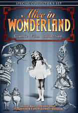 Alice in Wonderland: Classic Film Collection - Rare OOP DVD *Brand New!