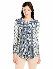 Lucky Brand Women's Woodblock Printed Top - Choose SZ/Color