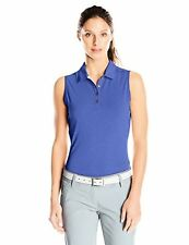 adidas Golf Women's Climalite Heather Sleeveless Polo - Choose SZ/Color
