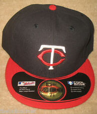 Minnesota Twins Official On-Field - New Era 59Fifty AWAY Fitted Hat Cool Base